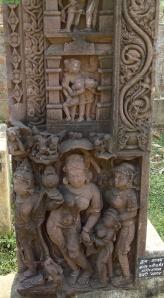 Folyóistennő. Tévarí (Sagar District), 11-12. század