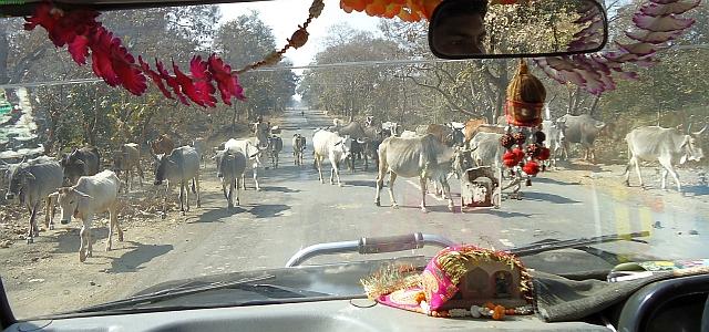 Madhya Pradeshben, Sagar és Gyaraspur között