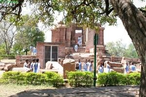 Devrani templom. Tala, Chhattisgarh (Bilaspur District), kb. 6. század
