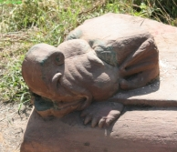 Makara, elefántfejű, krokodiltestű mitikus lény