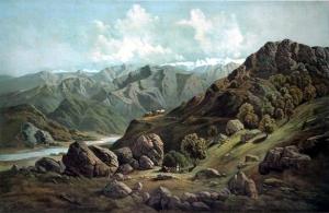 A Sutlej völgye 1857 körül.
