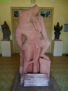 Varaha rescuing the Earth. Eran, Madhya Pradesh, 5th century. Harisingh Gour Archaeological museum, Sagar University, Sagar