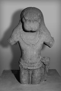 Nṛsiṃha. Pahlejpur (Sagar), Madhya Pradesh, c. 500 A.D. Harisingh Gour Archaeological Museum of Sagar University, Sagar