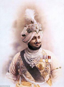 Bhupinder Singh, Patiala mahárádzsája