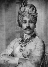 Sajjam Singh Bahadur, a brit indiai hadsereg dandártábornoka, Ratlam állam első mahárádzsája